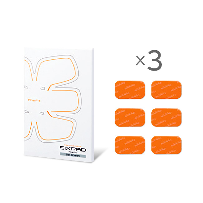 SIXPAD Abs Fit Gel Sheet_3Set